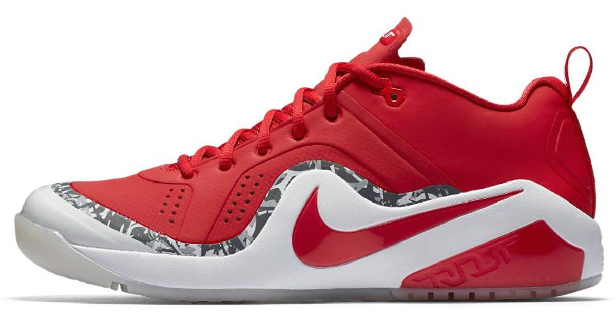 cheap for discount 2d6d7 f5ae9 Nike Force Zoom Trout 4 Men s Turf Baseball Shoe in Red for Men - Lyst