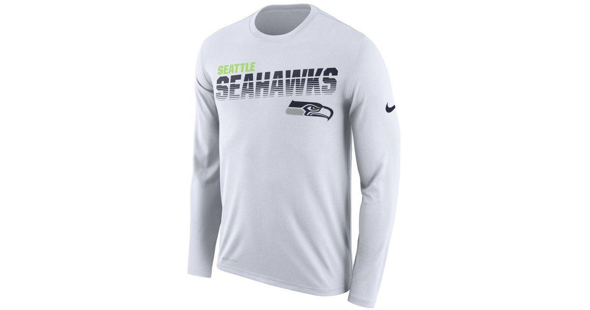 nfl Seahawks) Long-sleeve T-shirt