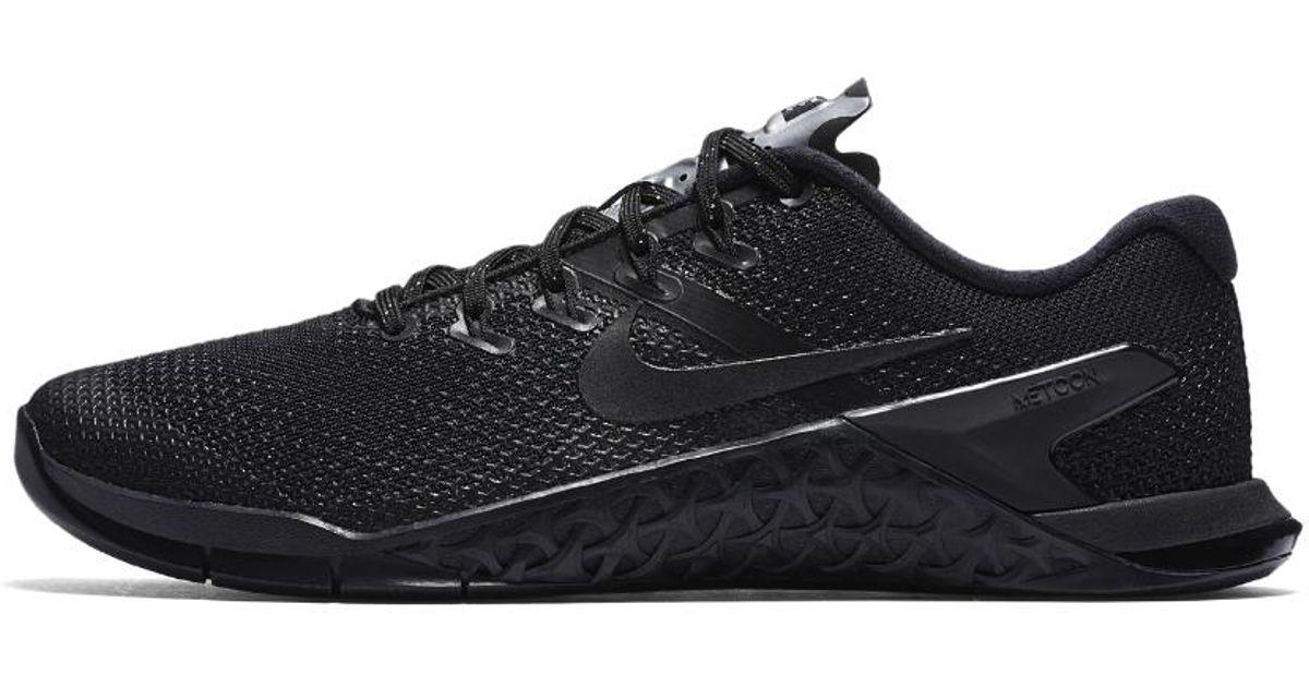 896f6a20a84 Lyst - Nike Metcon 4 Selfie Women s Training Shoe in Black