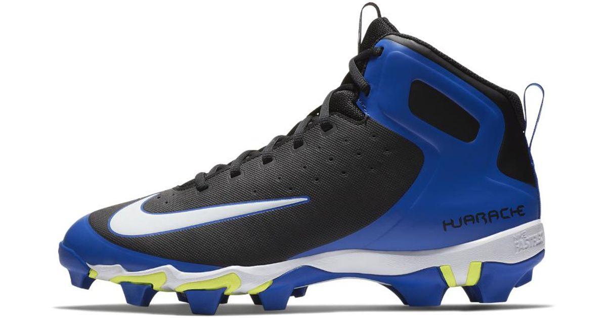 f7031d8adb15c Lyst - Nike Alpha Huarache Keystone Mid Men s Baseball Cleats in Blue for  Men