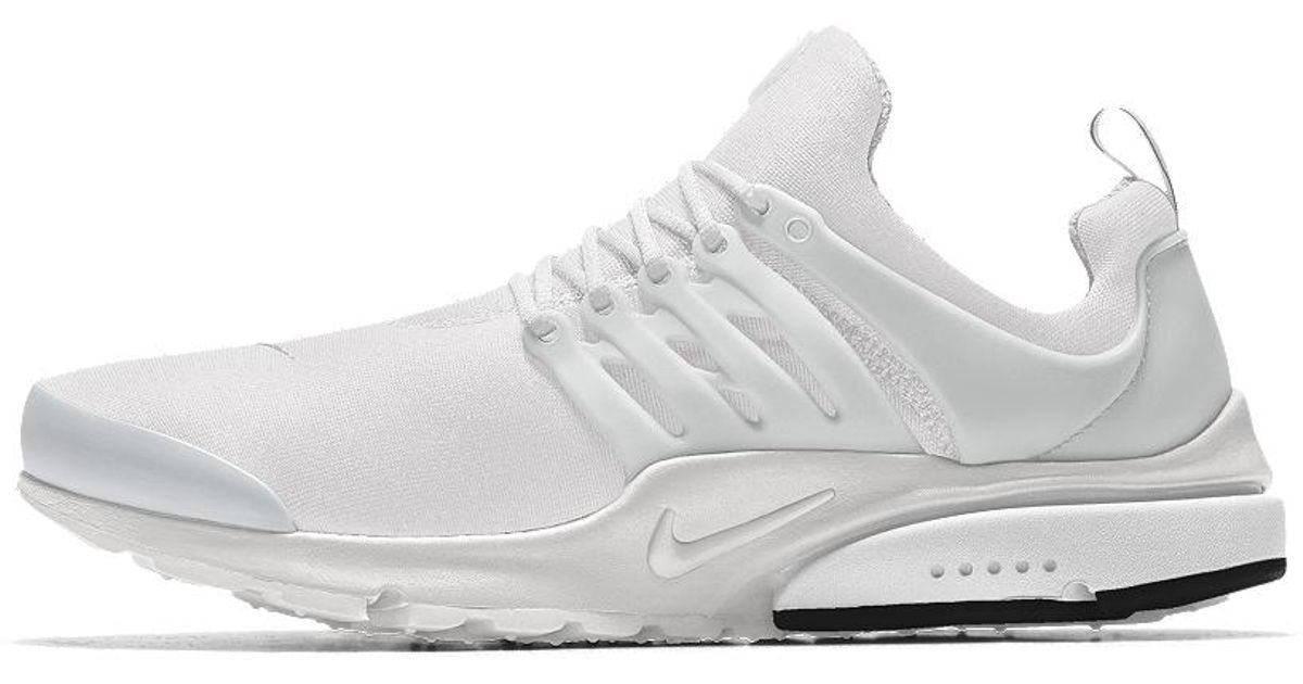 best service 89864 88775 Lyst - Nike Air Presto Id Mens Shoe in White for Men