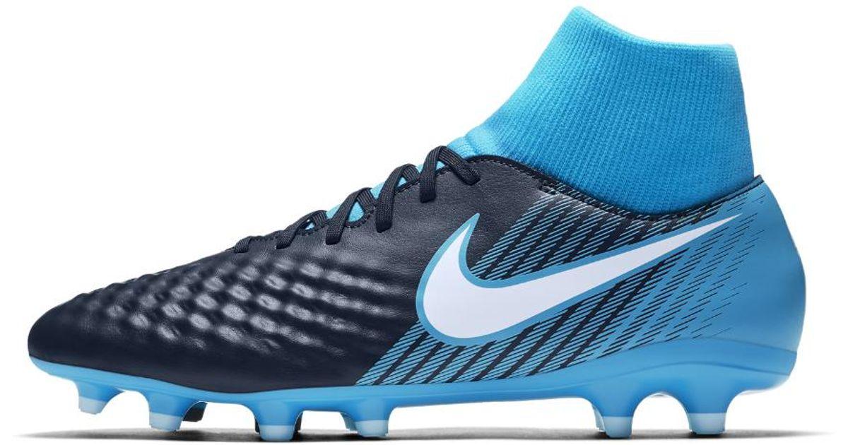 ecdec4241654f Nike Blue Magista Onda Ii Dynamic Fit Firm-ground Soccer Cleats for men