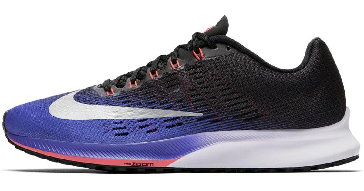 b4089efa8 Nike Air Zoom Elite 9 Women's Running Shoe in Black - Lyst