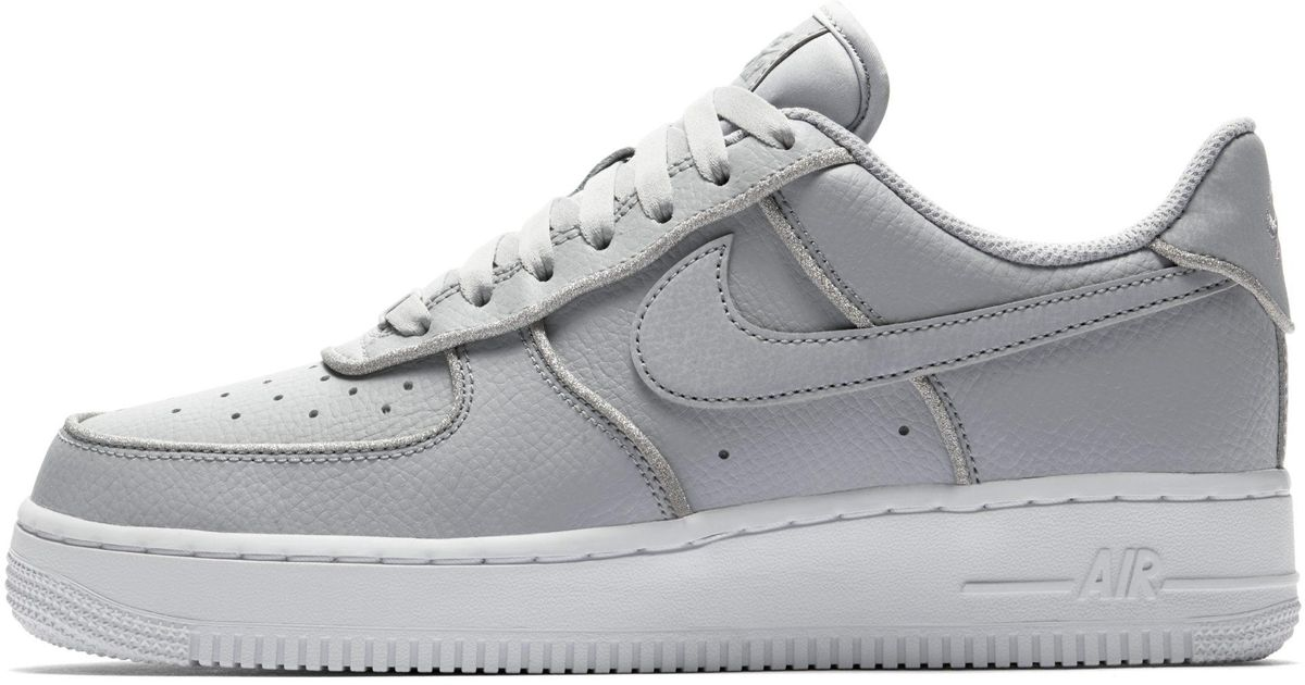 Nike Air Force 1 Low Glitter Shoe in Gray - Save 31% - Lyst c7ae5de156