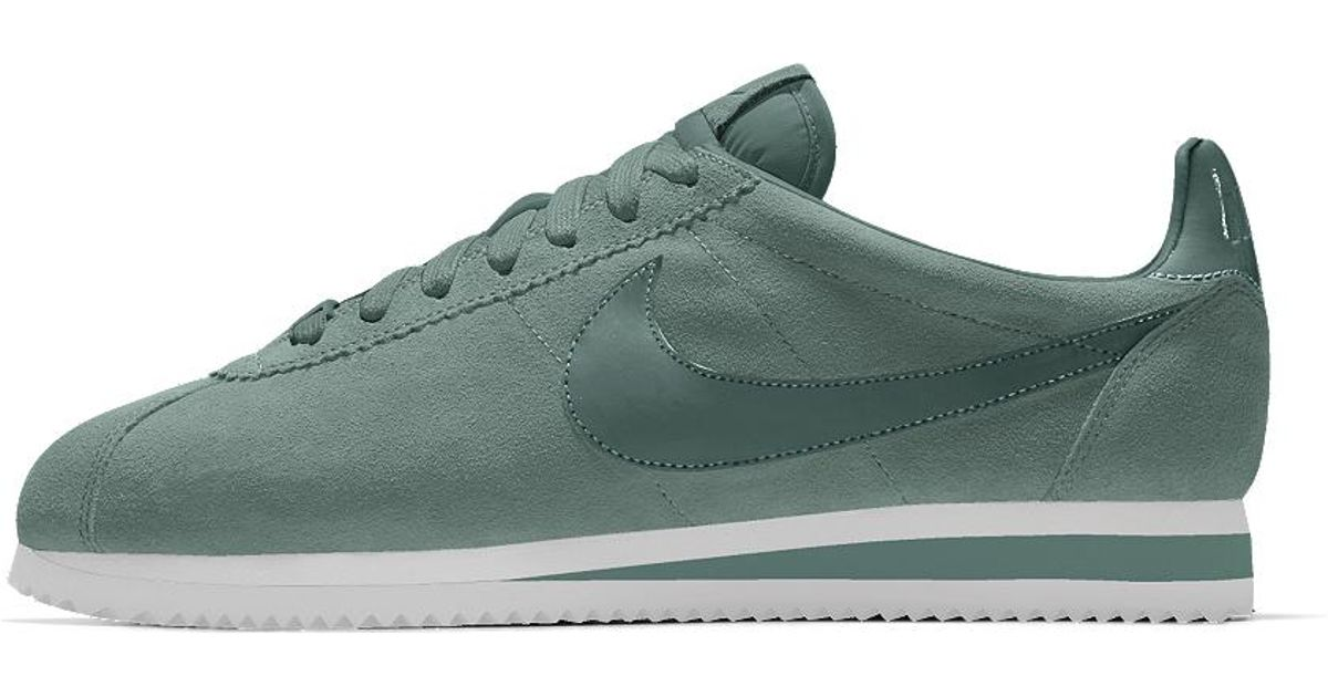 huge selection of c0fae 02456 Lyst - Nike Cortez Premium Id Men s Shoe in Green for Men