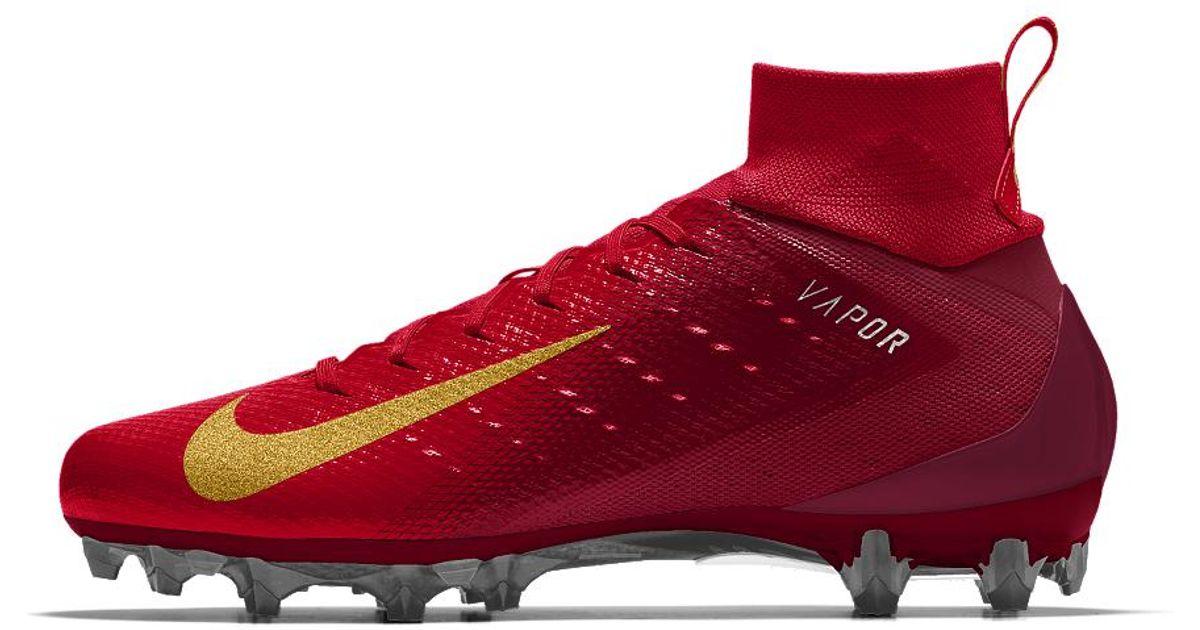 Lyst - Nike Vapor Untouchable Pro 3 Id Men s Football Cleat in Red for Men cfffecda1