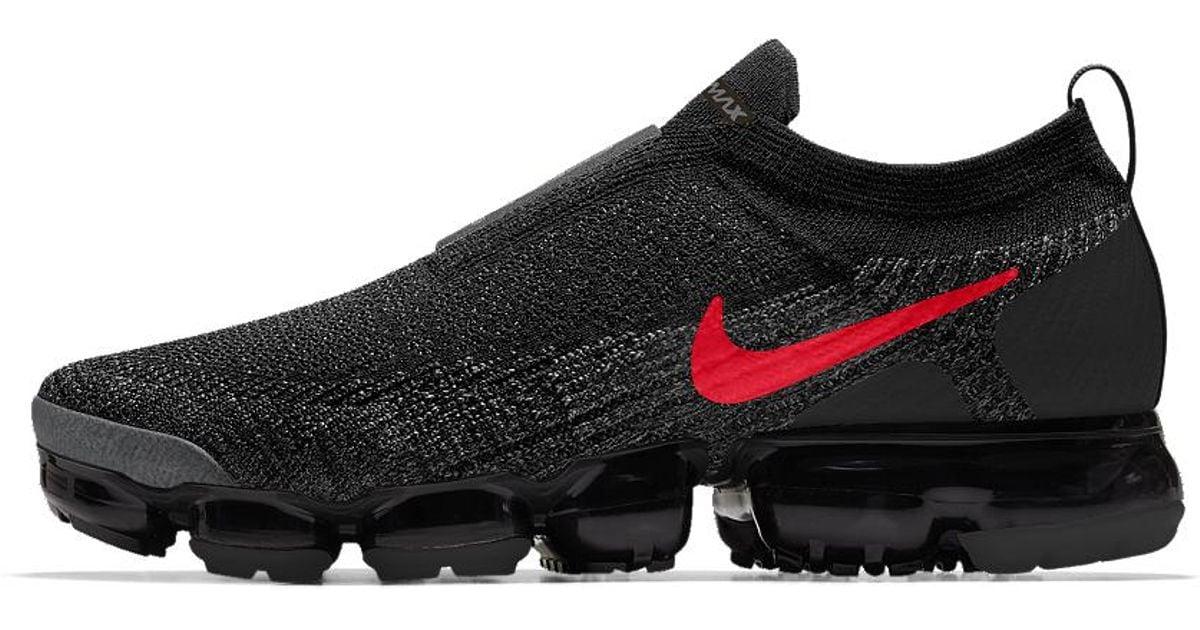 4586dc0e4f5b8 Lyst - Nike Air Vapormax Flyknit Moc 2 Id Men s Running Shoe in Black for  Men