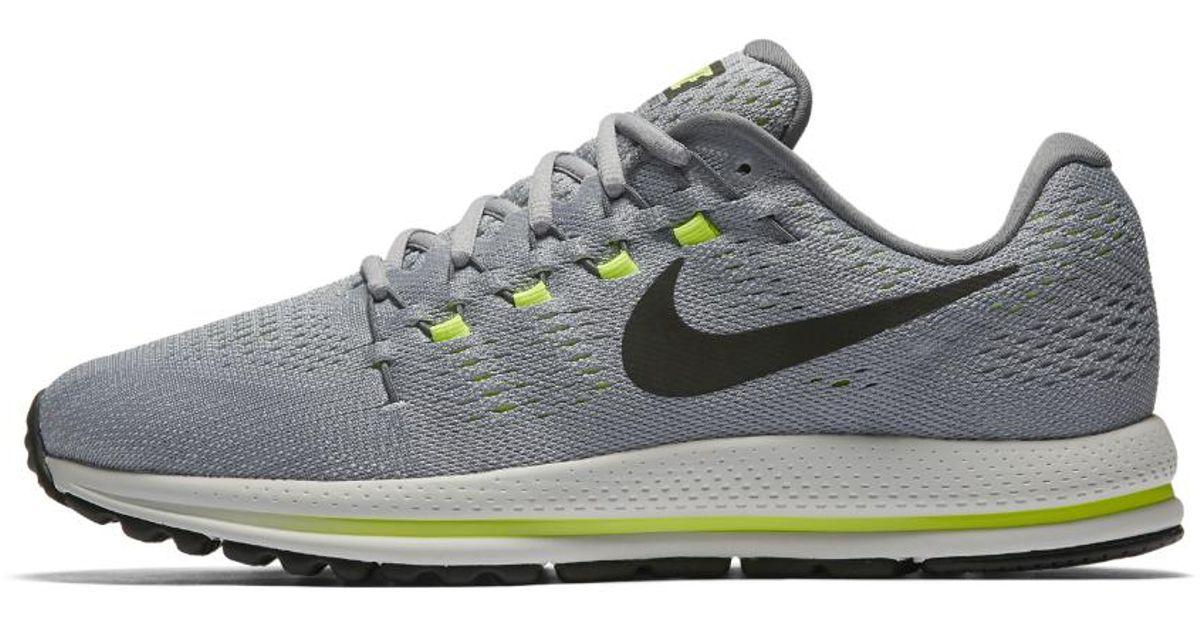 factory authentic buy online huge sale Nike Gray Air Zoom Vomero 12 (wide) Men's Running Shoe for men