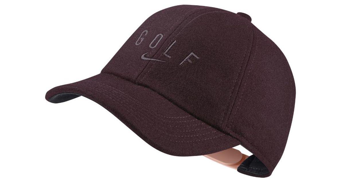 13cdfdeb31cd9 Lyst - Nike Aerobill Legacy91 Women s Golf Hat (black) in Purple for Men