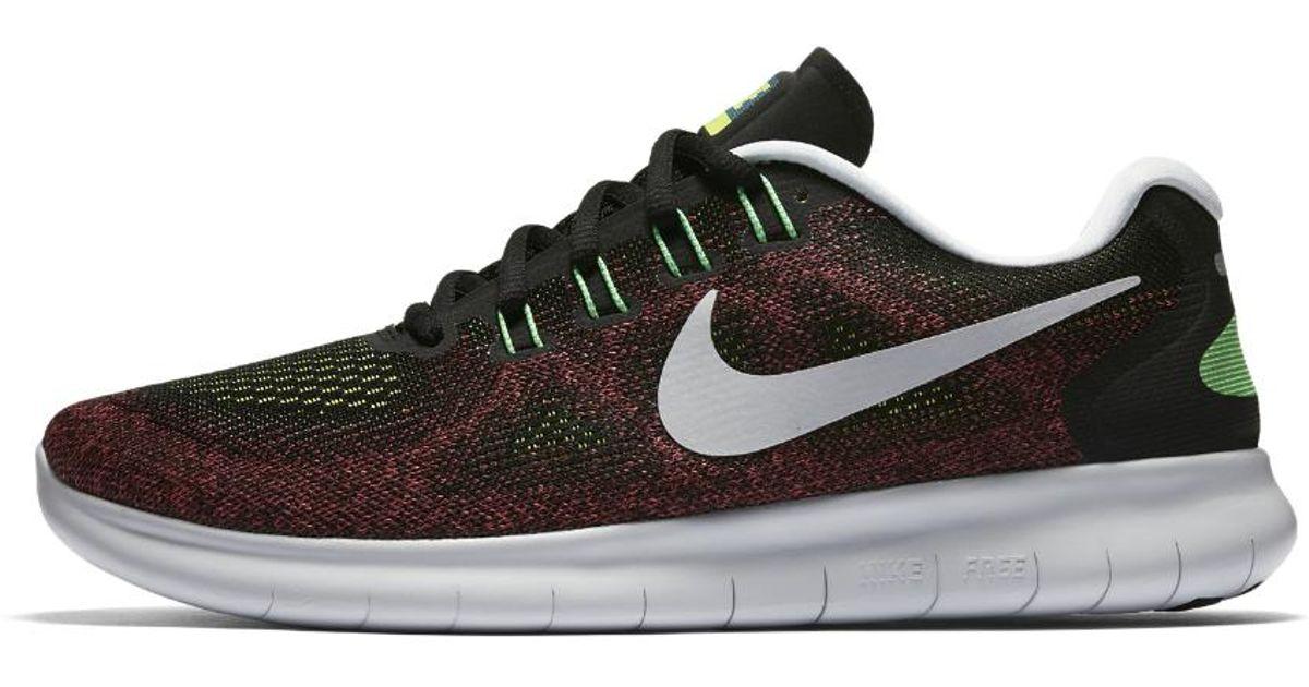 4ef8065cbe4f4 Lyst - Nike Free Rn 2017 Men s Running Shoe in Black for Men