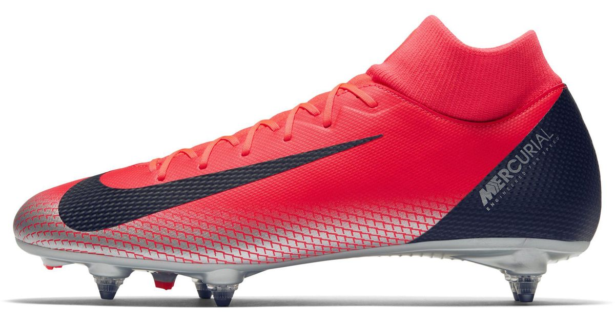 best cheap bf95b 50b5d Nike Red Cr7 Superfly 6 Academy Soft-ground Football Boot