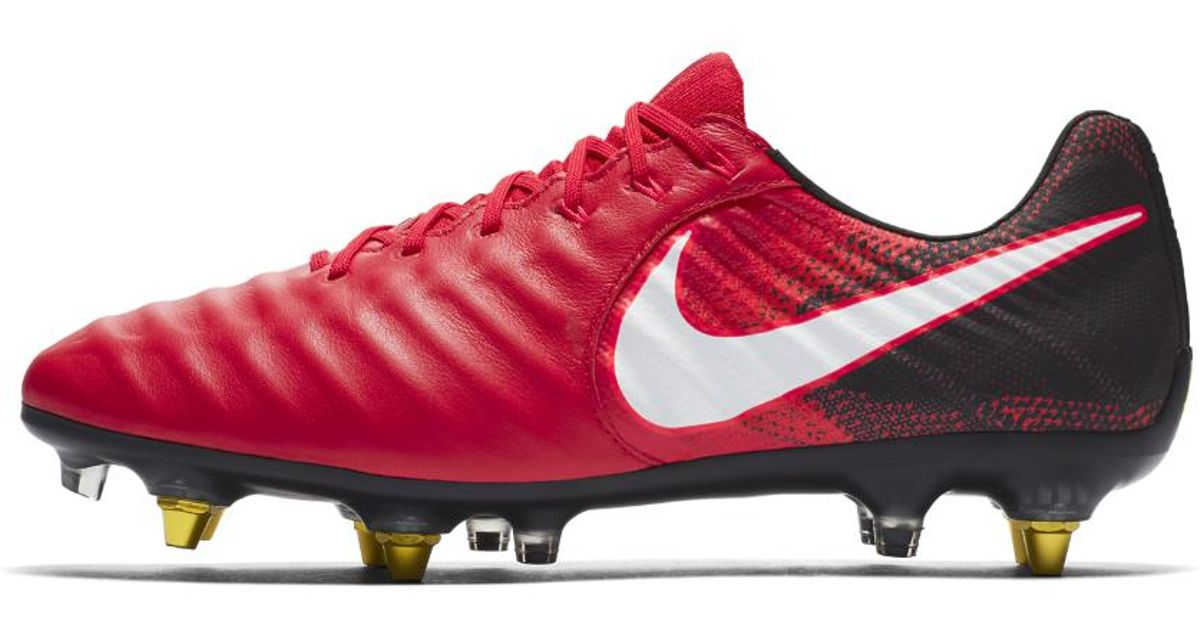 quality design 59d3d 98355 Nike Red Tiempo Legend Vii Anti-clog Sg-pro Soft-ground Soccer Cleats for  men