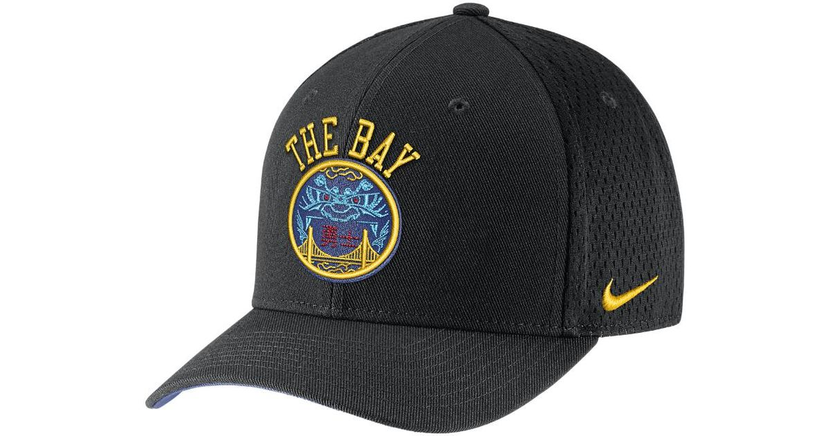 Lyst - Nike Golden State Warriors City Edition Classic99 Nba Hat (black) in  Black for Men 0311369cd84