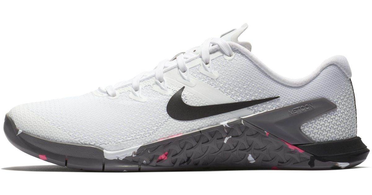 the latest 000c4 83f74 Shoe Lyst Metcon Nike Training 4 Weightlifting Cross In White S8XFXdqnw