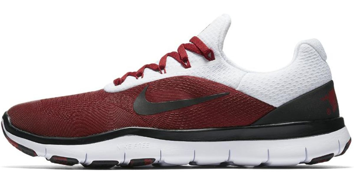 ede325d189 Lyst - Nike Free Trainer V7 Week Zero (arkansas) Men's Training Shoe in Red  for Men