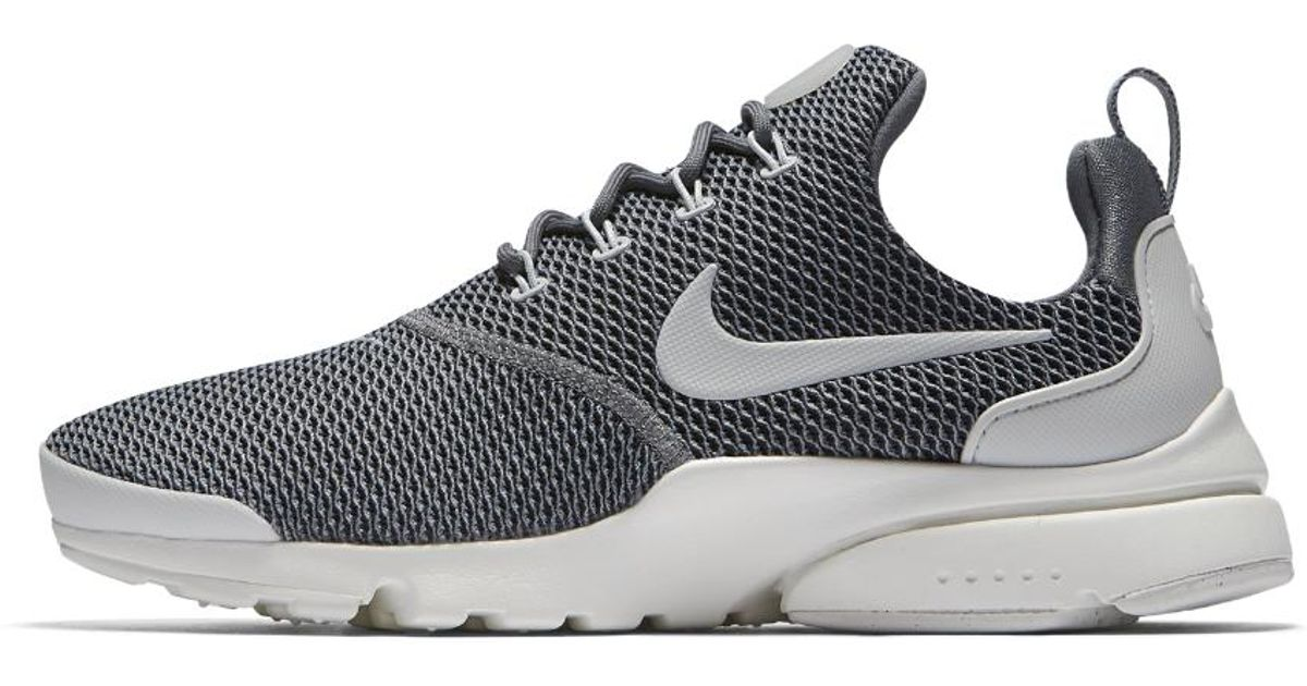 220796a0627b Lyst - Nike Presto Fly Women s Shoe in Gray