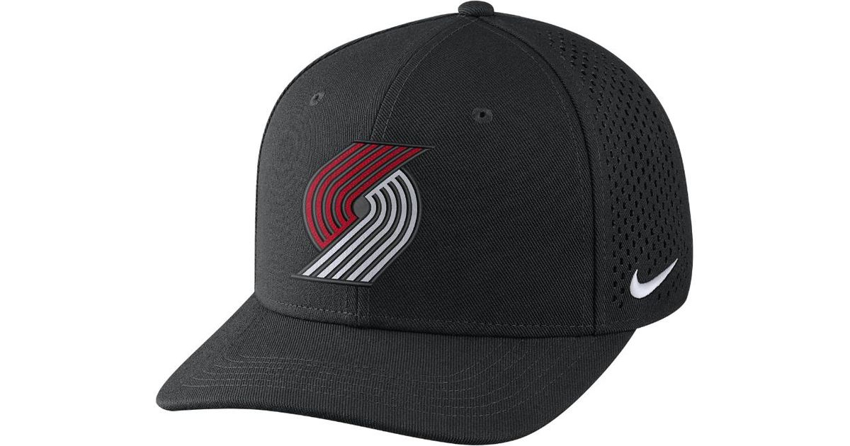 low priced 73d10 d29cc Nike Portland Trail Blazers Aerobill Classic99 Adjustable Nba Hat (black)  for men