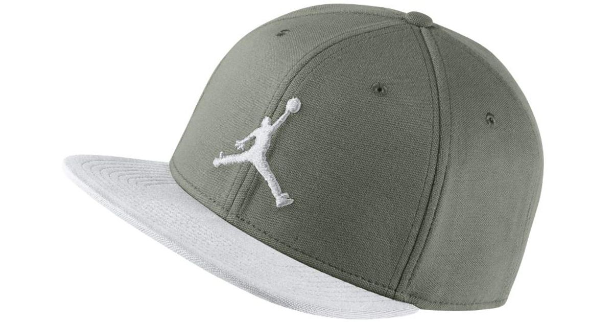 ... buy lyst nike jumpman snapback adjustable hat by nike olive in green  for men b5e4f 0ac35 ... d1bba76bdb9