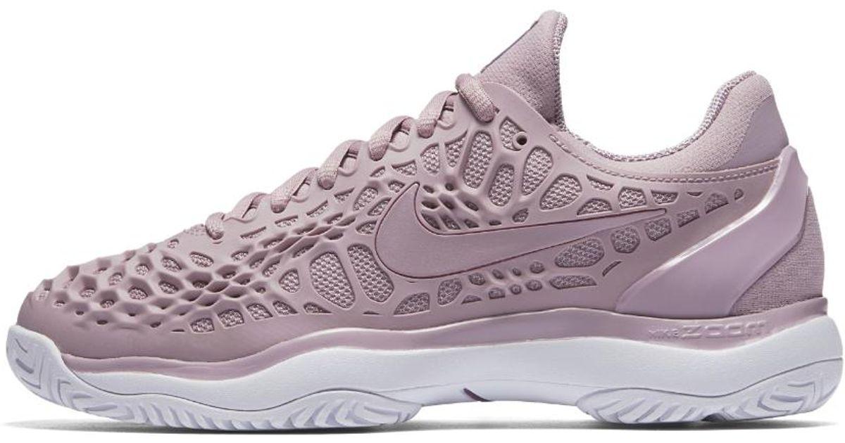 brand new 30c45 71d53 Nike Zoom Cage 3 Hc Women s Tennis Shoe in Purple - Lyst