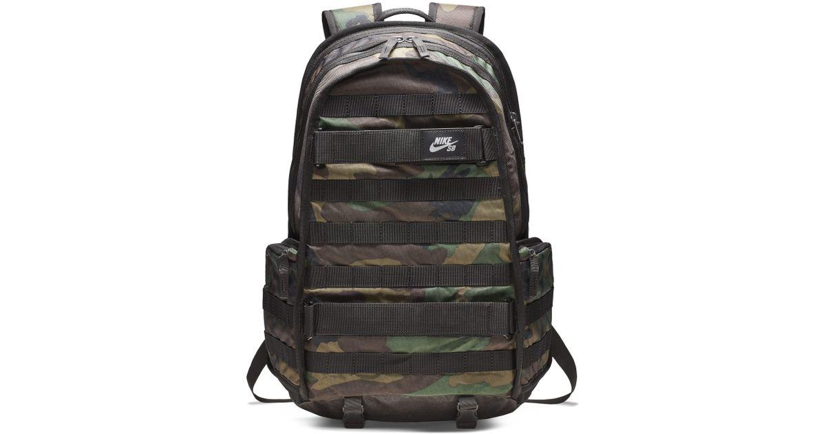 9e326747 Nike Sb Rpm Graphic Skateboarding Backpack in Green - Lyst