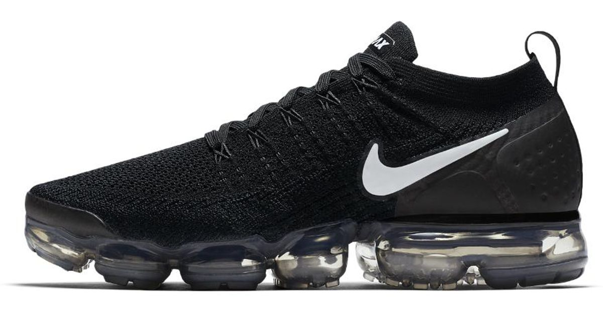 b3861968a060 Lyst - Nike Air Vapormax Flyknit 2 Men s Running Shoe in Black for Men