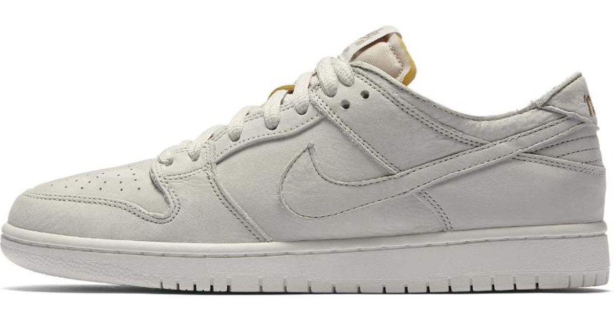sale retailer 9fa84 1e885 Nike White Sb Zoom Dunk Low Pro Deconstructed Men's Skateboarding Shoe for  men
