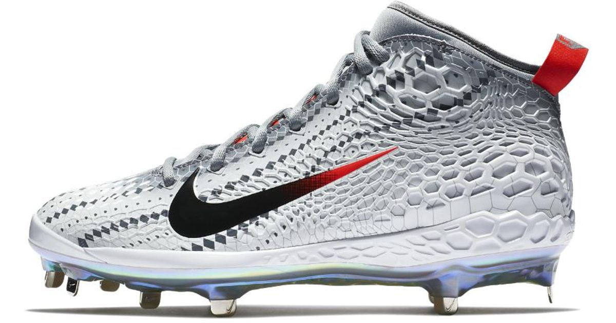 6db43b844 Nike Force Zoom Trout 5 Asg Men s Baseball Cleats in Gray for Men - Lyst
