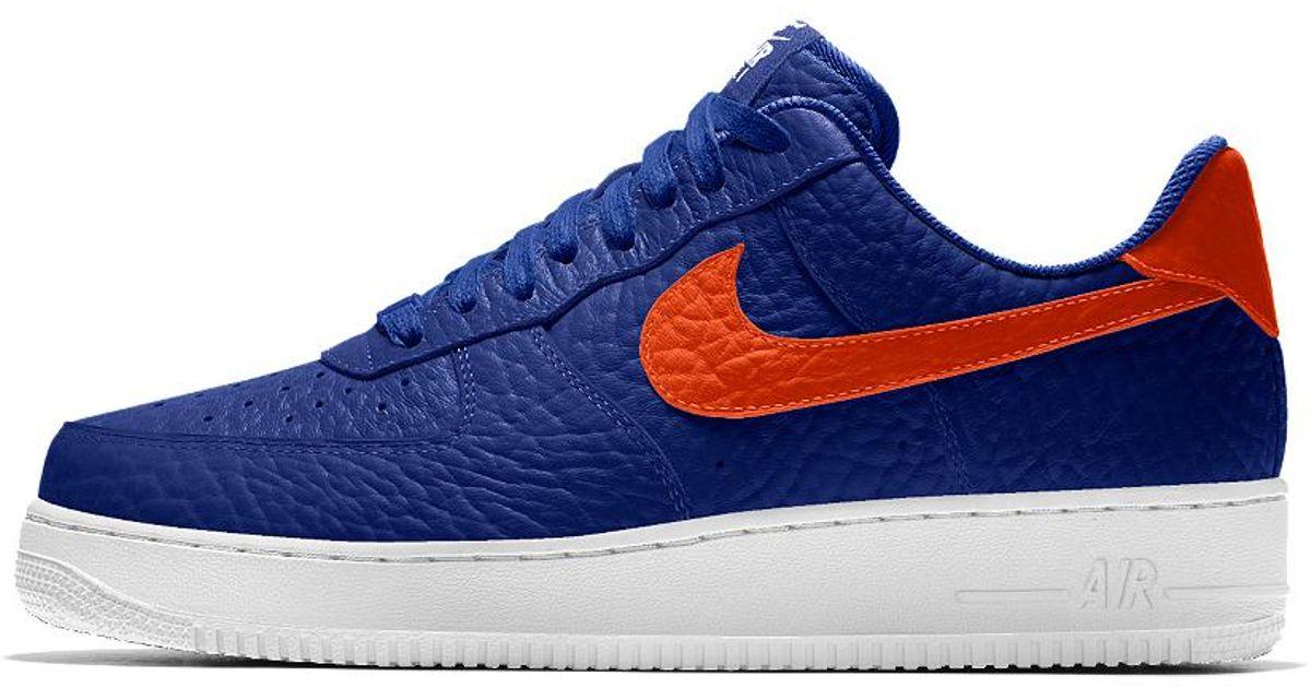 comprar original super especiales bonito diseño Nike Air Force 1 Low Premium Id (new York Knicks) Men's Shoe in ...