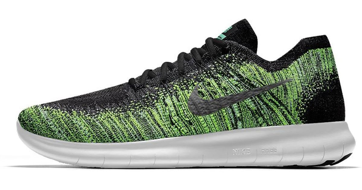 size 40 cf879 8f1e4 Nike Free Rn Flyknit 2017 Id Men s Running Shoe in Green for Men - Lyst