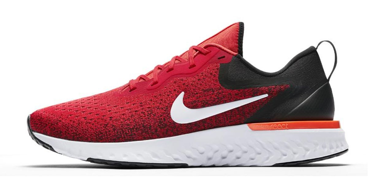 a6e5a8d3a6 Lyst - Nike Odyssey React Men s Running Shoe in Red for Men - Save 17%
