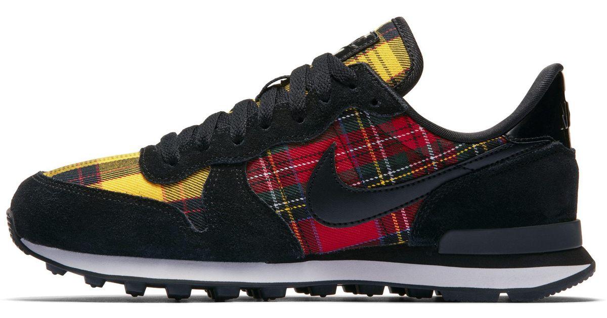 Nike Internationalist Tartan Shoe in