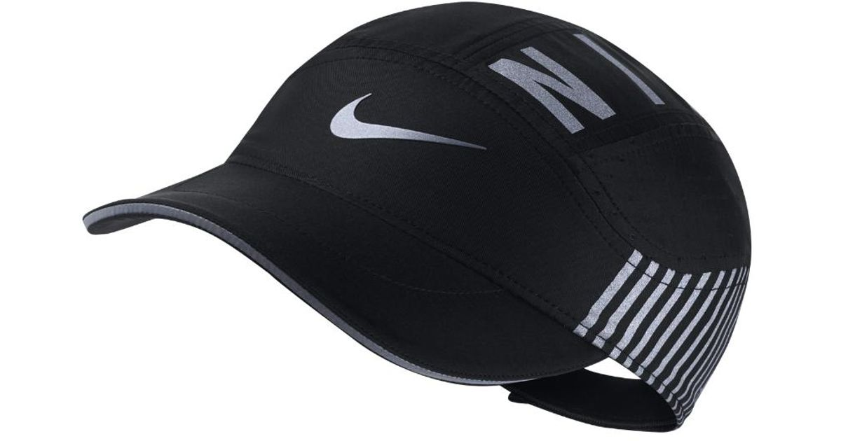 b8c10a18fc46e Nike Aerobill Elite Adjustable Running Hat (black) in Black for Men - Lyst