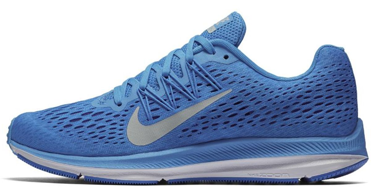 Lyst - Nike Air Zoom Winflo 5 Women s Running Shoe in Blue fdb3059c71
