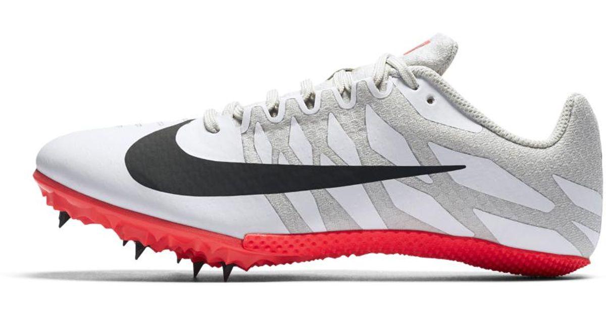 efe1e7ec1f9c8 Lyst - Nike Zoom Rival S 9 Women s Track Spike in White