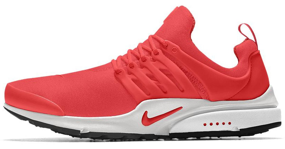 new products 5b451 a2893 Lyst - Nike Air Presto Id Mens Shoe in Red for Men - Save 13