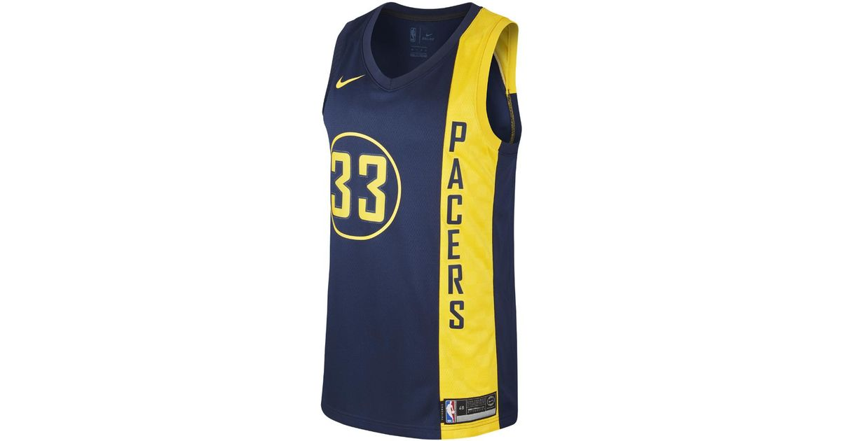 4ee6ac148b6c6 Nike Myles Turner City Edition Swingman Jersey (indiana Pacers) Men's Nba  Jersey in Blue for Men - Lyst