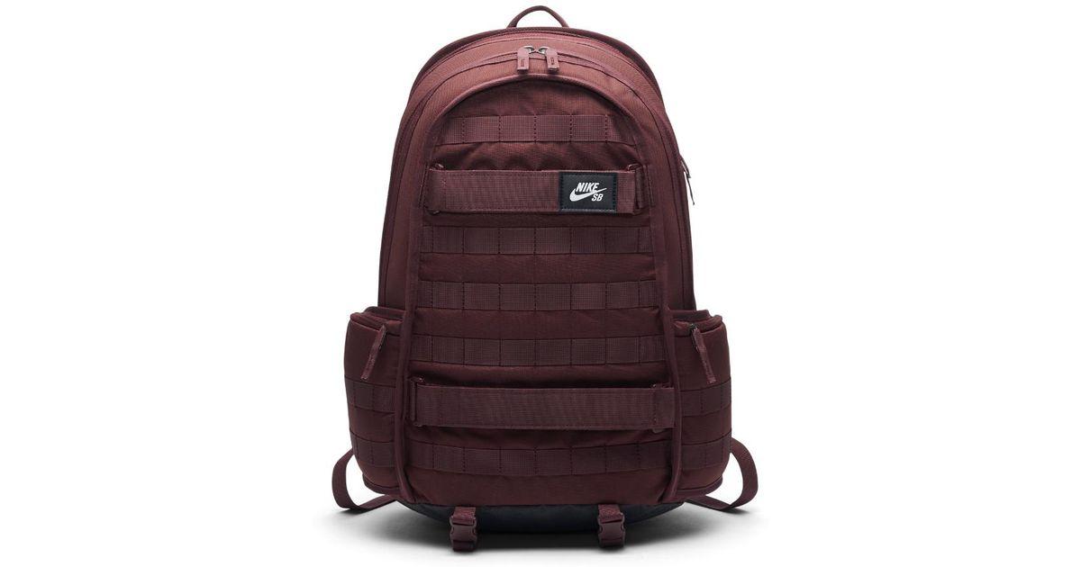 2ce8c1ef380b Lyst - Nike Sb Rpm Skateboarding Backpack (red) in Red for Men
