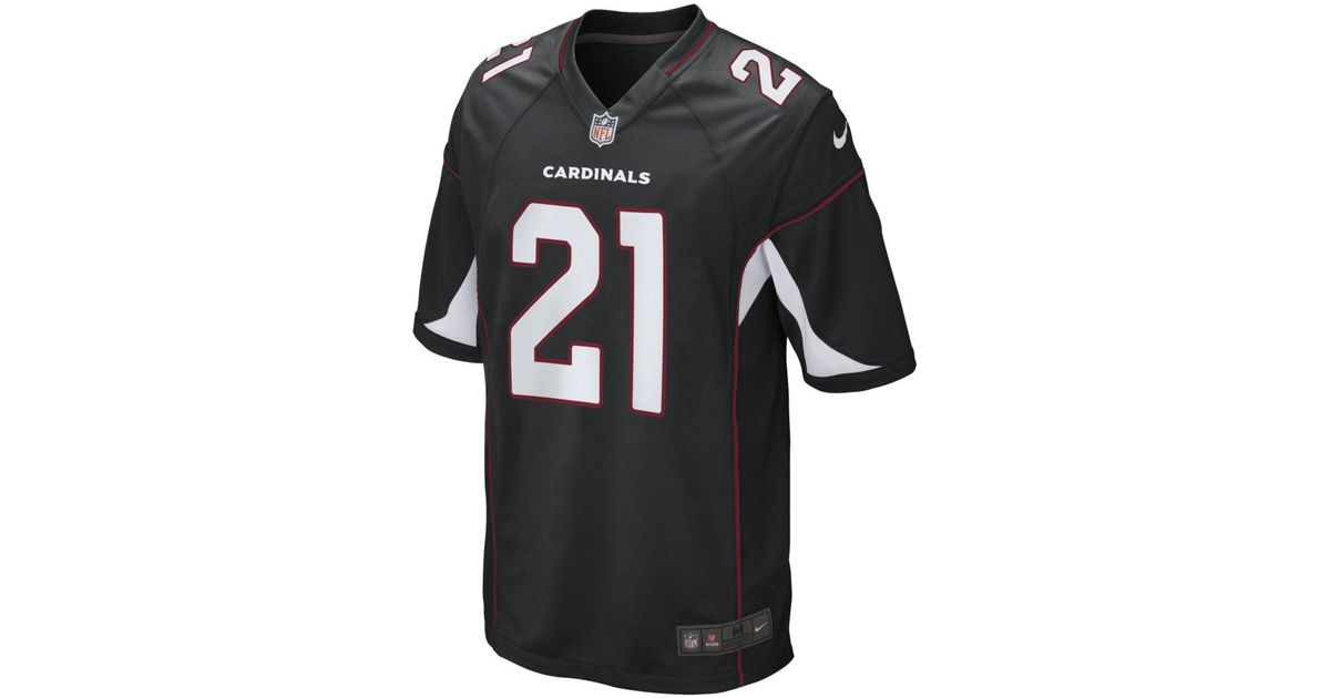 bc8179397d430 Nike Nfl Arizona Cardinals (patrick Peterson) Football Alternate Game Jersey  in Black for Men - Lyst