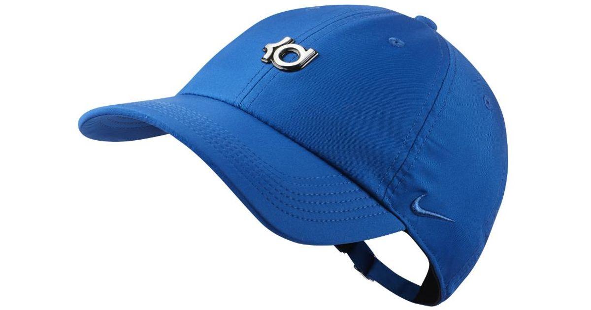 Lyst - Nike Kd Heritage 86 Qs Adjustable Basketball Hat (blue) in Blue for  Men