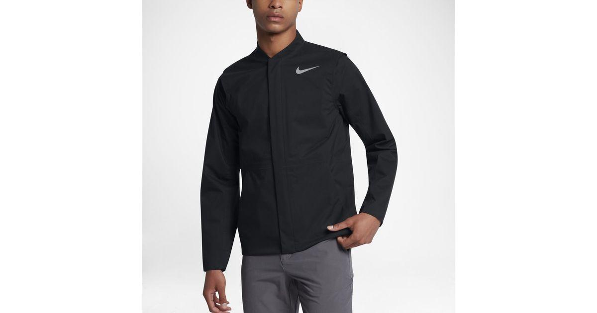 75c8e685d3d3 Lyst - Nike Hypershield Hyperadapt Golf Jacket in Black for Men