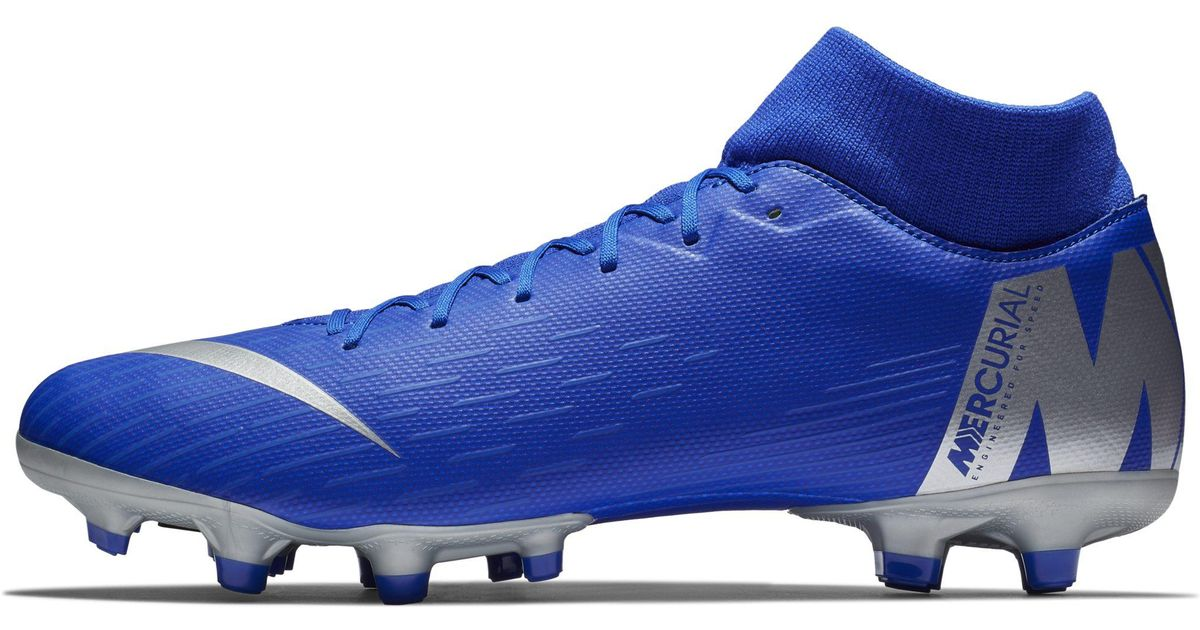 f0d693e8c Nike Mercurial Superfly 6 Academy Mg Multi-ground Football Boot in Blue -  Lyst