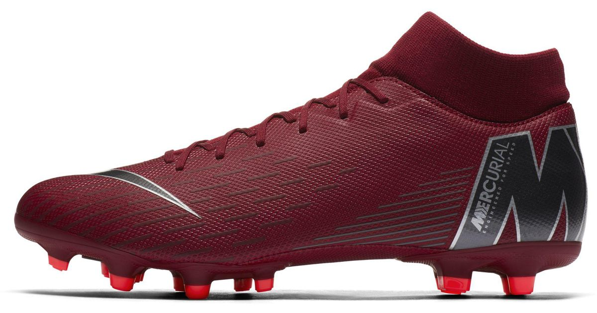 best website 46dd4 bf781 Nike Red Mercurial Superfly Vi Academy Multi-ground Football Boot for men