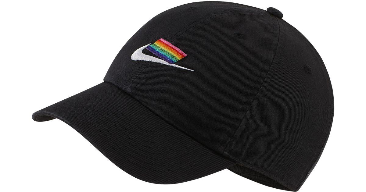 28b682c2e Nike Black Heritage86 Betrue Cap for men
