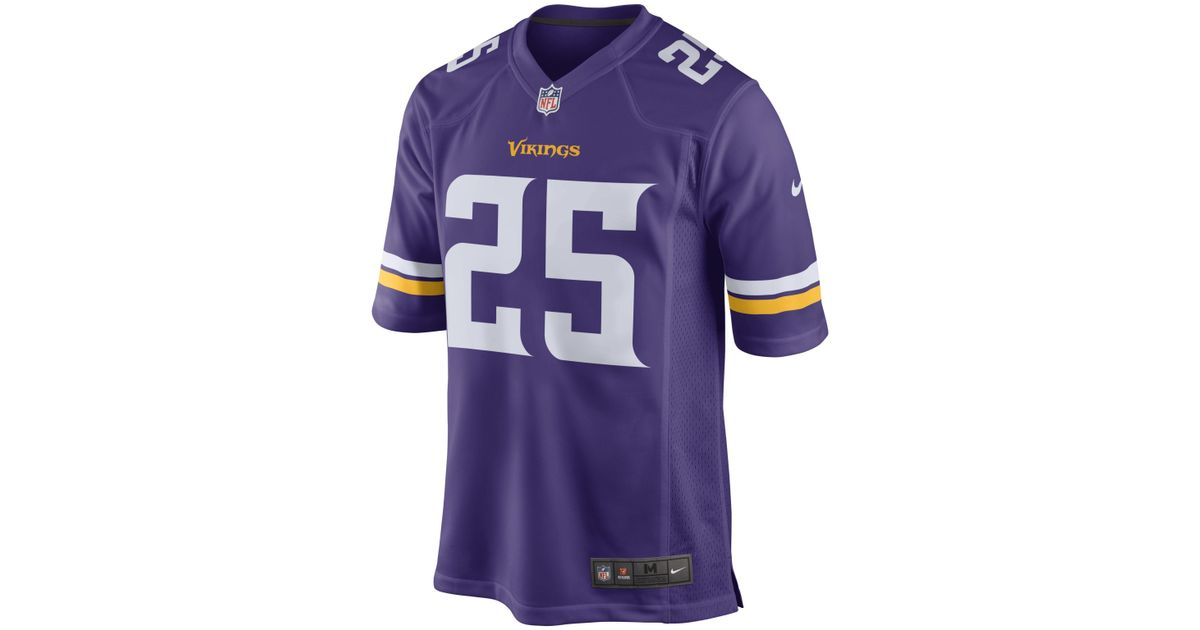 brand new ac4d3 2681c Nike - Purple Nfl Minnesota Vikings (latavius Murray) American Football  Home Game Jersey for Men - Lyst