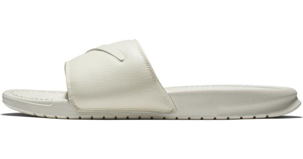 8df843ebc06 Lyst - Nike Benassi Jdi Ltd Men s Slide Sandal