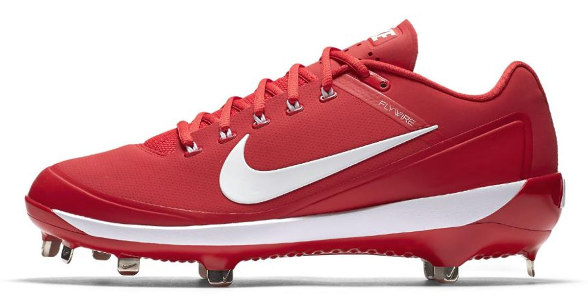 226fc6a3f Nike Alpha Air Clipper  17 Men s Baseball Cleats in Red for Men - Lyst