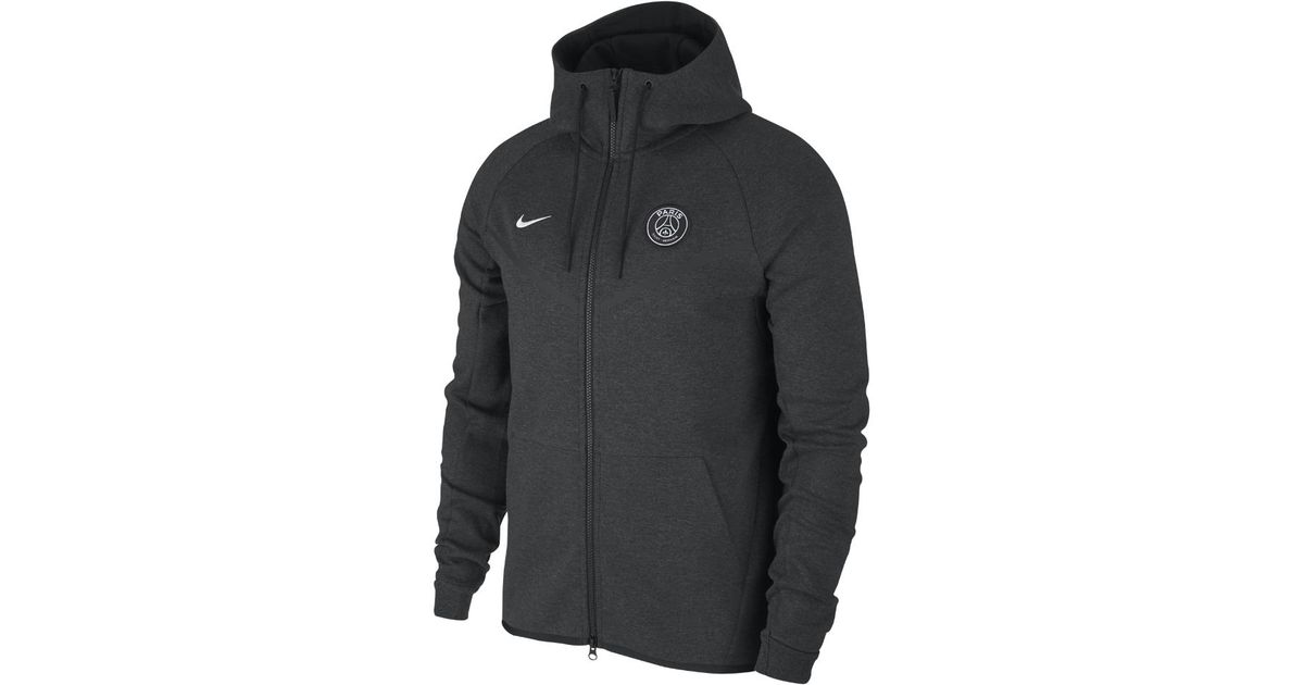 cdb4368f0eb1 lyst – nike paris saint-germain tech fleece windrunner men s jacket.  Download Image 1200 X 630