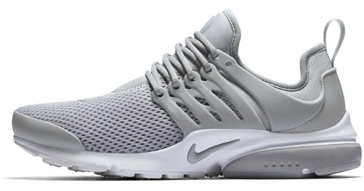 arrives b7c2a ca5ad Nike Gray Air Presto Women's Shoe