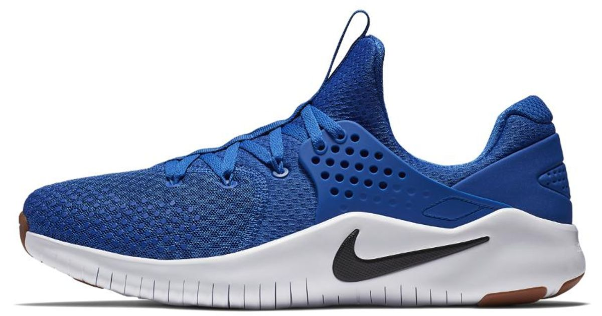 87109f4f7adf ... denmark lyst nike free tr v8 mens training shoe in blue for men 62e44  7f3b1