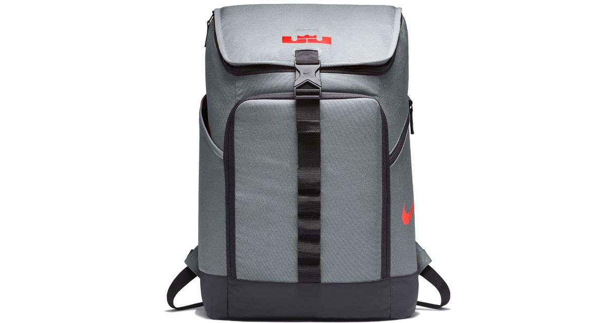 730e066b52 Lyst - Nike Lebron Max Air Ambassador Backpack (grey) in Gray for Men